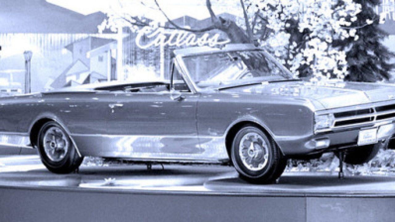 Oldsmobile Cutlass 442 Convertible Show Car, 1965 - Auto